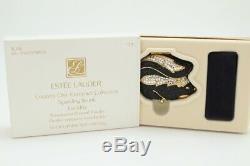 Estee Lauder Country Chic Collection Compact Skunk Mousseux Poudre Pressée Nib