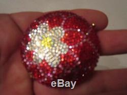 Estée Lauder Cristaux Rouge Et Blanc Compact Bejeweled Tub Sc-1