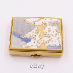 Estee Lauder Crystal Forest Powder Compact Nouveau