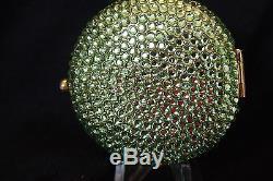 Estee Lauder Crystal Green Avec Poudre Nouveaux Cristaux Bn Supplémentaires De Swarovski