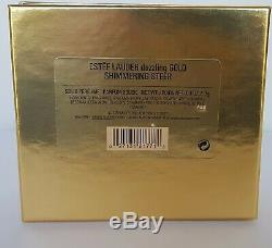 Estee Lauder Dazzling Gold Chatoyante Steer Parfum Solide Compact Nib 2000