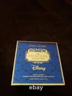 Estee Lauder & Disney Aladdin Lamp Grant 3 Wishes Solid Perfume Compact Mibb