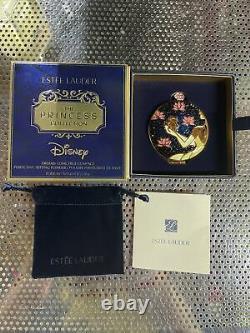 Estee Lauder Disney Dreams Come True Powder Compact 0.1oz Nouveauté En Boîte Rare