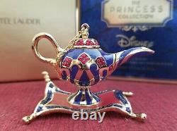 Estee Lauder & Disney Parfum Solide Compact Aladdin Grant 3 Souhaits Nibb