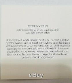 Estee Lauder & Disney Parfum Solide Compact Beauté & Beast Mme Potts Nibb