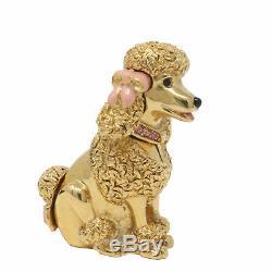 Estee Lauder Dog Parfum Solide Étiquette Compact Vintage Nouveau Pas
