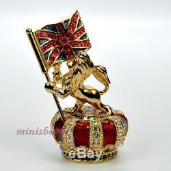 Estee Lauder English Emblèmes Parfum Solide Compact Harrods Exclusif Neuf Dans La Boîte