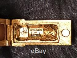 Estee Lauder English Postbox Parfum Solide Compact Harrods Exclusif Neuf Dans La Boîte