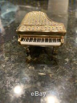 Estee Lauder Étincelantes Grand Piano Compact Pour Parfum Solide 2007- Rare