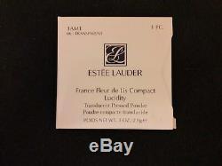 Estee Lauder France Fleur De Lis Lucidité Poudre Compacte Très Rare Et Bnib