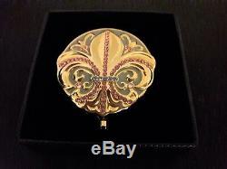 Estee Lauder France Fleur De Lis Lucidity Poudre Compacte Très Rare & Bnib