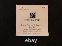 Estee Lauder France Fleur De Lis Poudre De Lucidité Compact Très Rare & Bnib