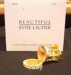 Estee Lauder Garden Cupidon Compact Avec Le Parfum Utilisé