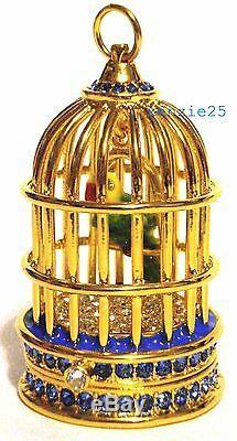 Estee Lauder Gilded Cage À Oiseaux Parfum Solide Compact 2015 Vide Ub