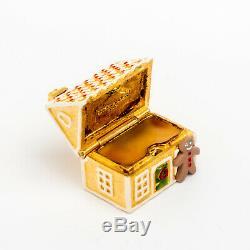 Estee Lauder Gingerbread House Parfum Solide Compact Plein