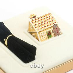 Estee Lauder Gingerbread House Solid Perfume Compact Complet