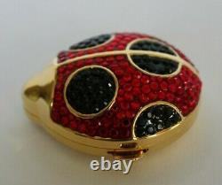 Estee Lauder Glittery Ladybug Lucidity Powder Compact