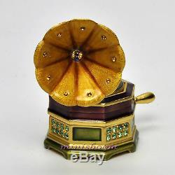 Estee Lauder Glorieux Gramophone Compact Pour 2007 Parfum Solide Jay Strongwater