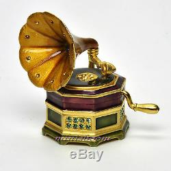 Estee Lauder Glorious Gramophone Compact Pour Parfum Solide 2007 Jay Strongwater