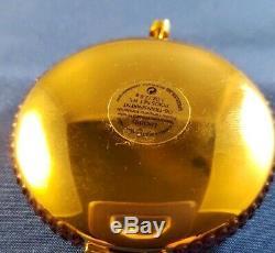 Estee Lauder Golden Halo Compact Poudre Pressée Lucidity 0,1 Oz 2,8 G Nouveauté De La Boîte