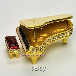 Estee Lauder Grand Piano Compact Pour 1999 Parfum Solide Avec La Boîte