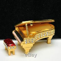 Estee Lauder Grand Piano Compact Pour Parfum Solide 1999 Avec Boîte
