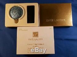 Estee Lauder Groove Thing Powder Compact. Mib Mibb Jamais Été Utilisé