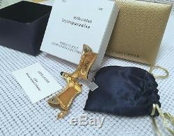 Estee Lauder Guilloche Cowgirl Bijoux Bottine Parfum Solide Compact Orig. Boîte