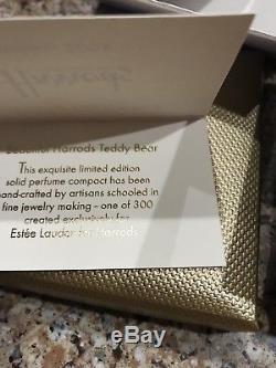 Estee Lauder Harrods 2004 Parfum Solide Pour Ourson De Noël Compact 300 Fabriqué