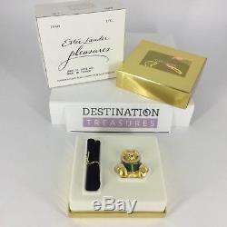 Estee Lauder Harrods Bear Parfum Compact Solid 1er Édition 2001 W