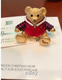 Estee Lauder Harrods Compacts Parfumés À L'ours De Noël Pour 2016, 2017 Et 2018