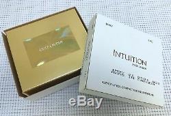 Estee Lauder & Harrods Esence De Vous Vtg Solide Parfum Compact Orig. Boxex Rare