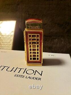 Estee Lauder Harrods London Cabine Téléphonique Solide Parfum Compact Mibb