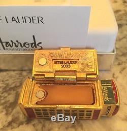 Estee Lauder Harrods Londres Téléphone Solide Perfume Compact Les Deux Boîtes