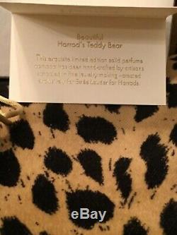 Estée Lauder Harrods Ours Parfum Solide Compact Limited Edition 2005 Holiday