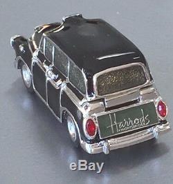 Estee Lauder Harrods Taxi Solide Parfum Compact Orig Boîtes Mibb 1/300 Rare