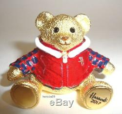 Estee Lauder Harrods Xmas Bear Beau Parfum Solide Compact 2017 Ltd Ed Nib