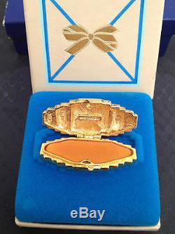 Estee Lauder Heirloom Vintage Compact W Collection Privée Solide Parfum Mib