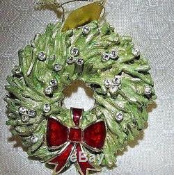 Estee Lauder Holiday Wreath Parfum Solide En Lin Compact Rempli Neuf