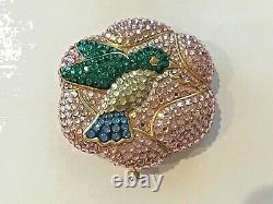 Estee Lauder Humming Bird Lucidity Powder Compact Beautiful! Colibri Plein