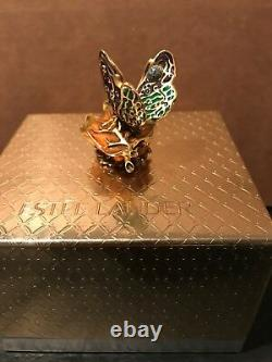 Estee Lauder Intuition 2003 Bejeweled Butterfly Parfum Compact Jay Strongwater