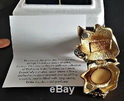 Estee Lauder Intuition 2003 Bejeweled Papillon Parfum Solide Compact Nouveau Dans La Boîte