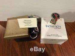 Estee Lauder Intuition 2004 Precious Bird Compact Parfum Jay Strongwater