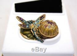 Estee Lauder Intuition Glistening Dragonfly 2002 Parfum Compact De Collection