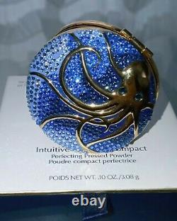 Estee Lauder Intuitive Octopus Pressed Powder Compact Par Monica Rich Kosann Nouveau
