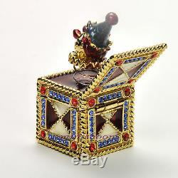 Estee Lauder Jack In The Box Compact Pour 1999 Collection Parfum Solide