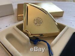 Estee Lauder Japonaise Tsuru Fan Sparkly Lucidité Poudre Compacte Sib Belle