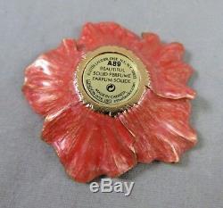 Estee Lauder Jay Strongwater Belle Compact Fleur Parfum Solide Romantique