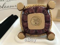 Estee Lauder Jay Strongwater Compact 02 Couronne Bejeweled Menthe Dans Les Deux Boîtes