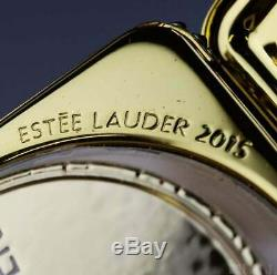 Estee Lauder Jay Strongwater D'or De Nuit En Poudre Compacts